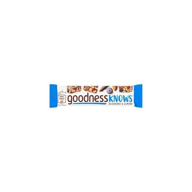 GOODNESSKNOWS BLUEBERRY & ALMOND