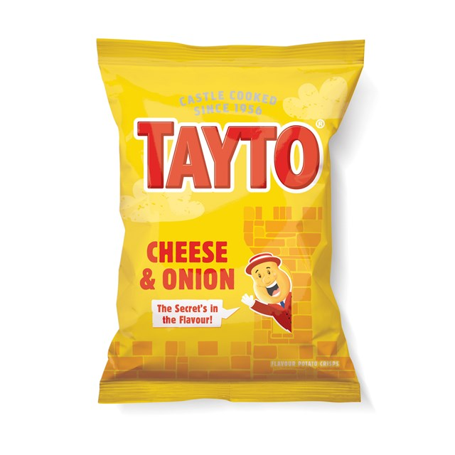 TAYTO CHEESE & ONION 48 BAGS