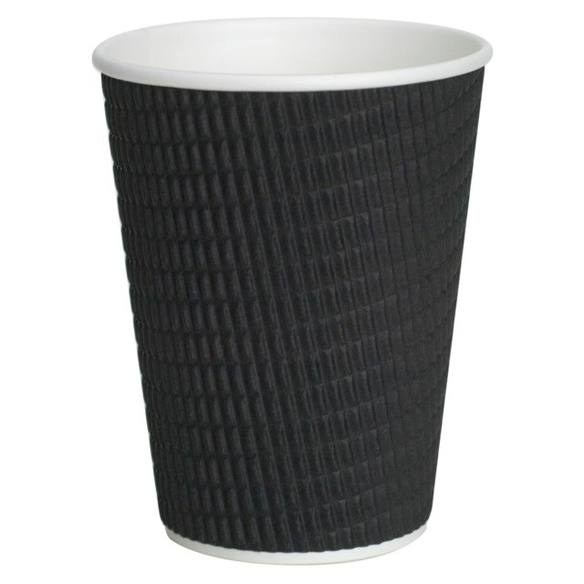 RIPPLE CUP 12OZ - BLACK