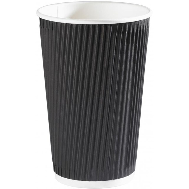 RIPPLE CUP 16OZ - BLACK