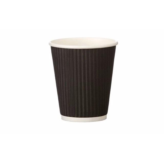 RIPPLE CUP 8OZ - BLACK