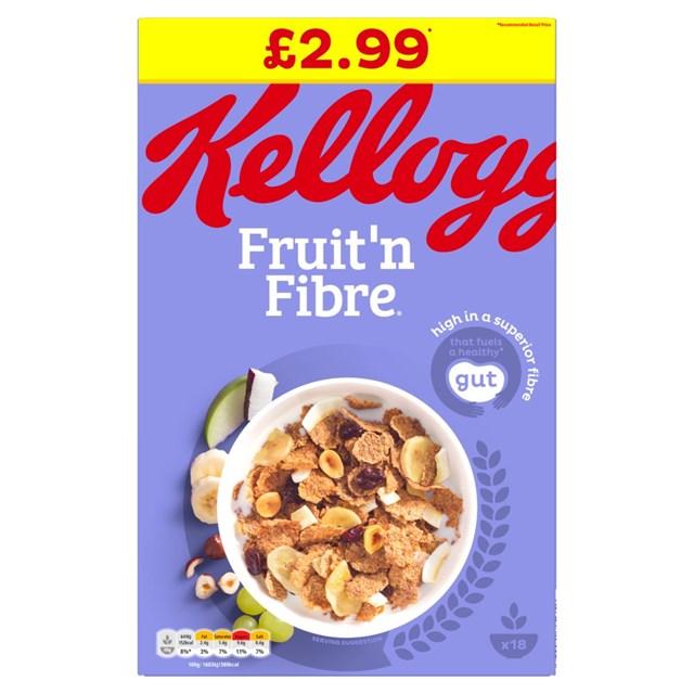 KELLOGGS £2.99 FRUIT & FIBRE