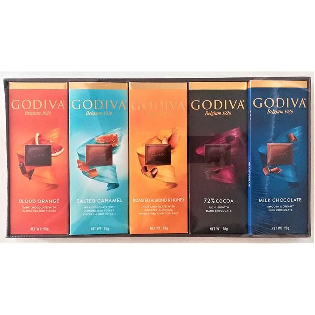 GODIVA BELGIAN CHOCOLATE 10 PACK 2 EACH VARIETY