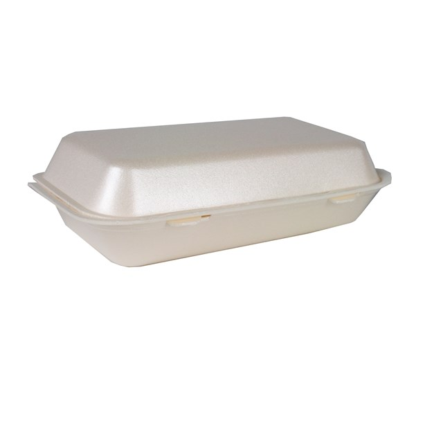 POLYSTYRENE LONG MEAL BOX