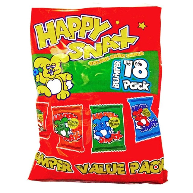 HAPPY SNAX 18PACK VALUE PACK