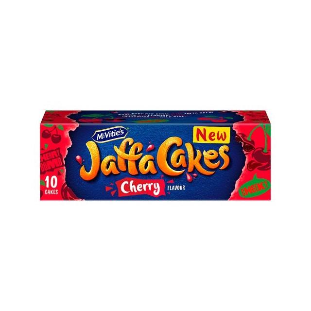 MCVITIES JAFFA CAKES CHERRY 150g (12 PACK)