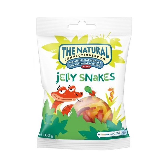 NATURAL CONFECTIONERY COMPANY JELLY SNAKES SINGLES
