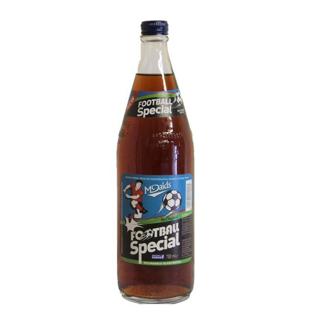MCDAIDS GLASS FOOTBALL SPECIAL 750ml (12 PACK)