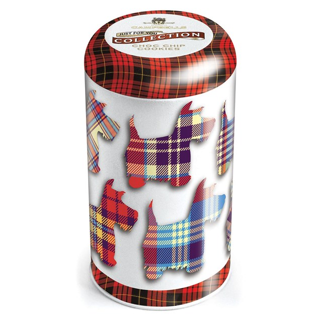 CAMPBELLS ALL BUTTER SHORTBREAD TARTAN SCOTTIE DOG TIN 175g