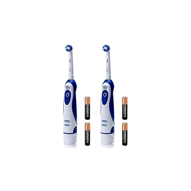 ORAL B PRO EXPERT ELECTRIC TOOTHBRUSH TWIN PACK