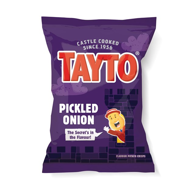 TAYTO PICKLED ONION 37.5g (32 BAGS