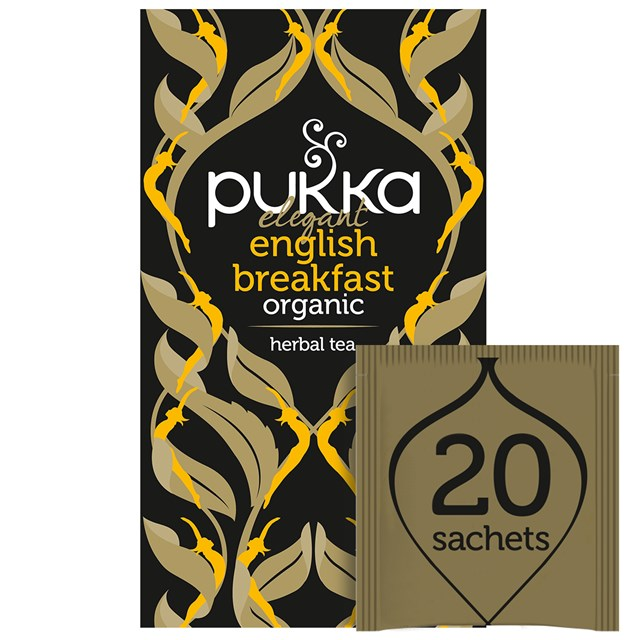 PUKKA ELEGANT ENGLISH BREAKFAST TEA