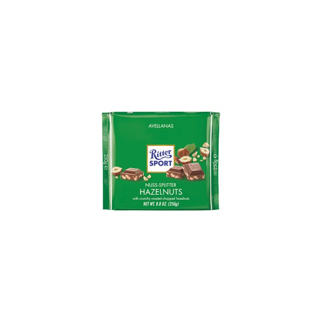 RITTER CHOC CHOPPED HAZELNUT
