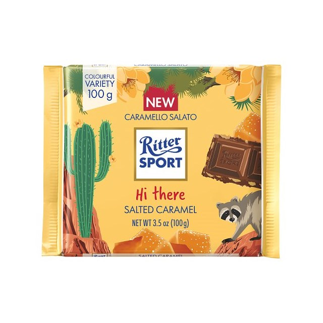 RITTER CHOC HONEY SALTED ALMOND