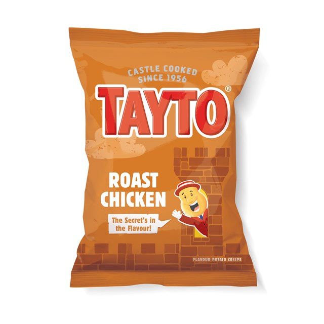 TAYTO ROAST CHICKEN 32 BAGS