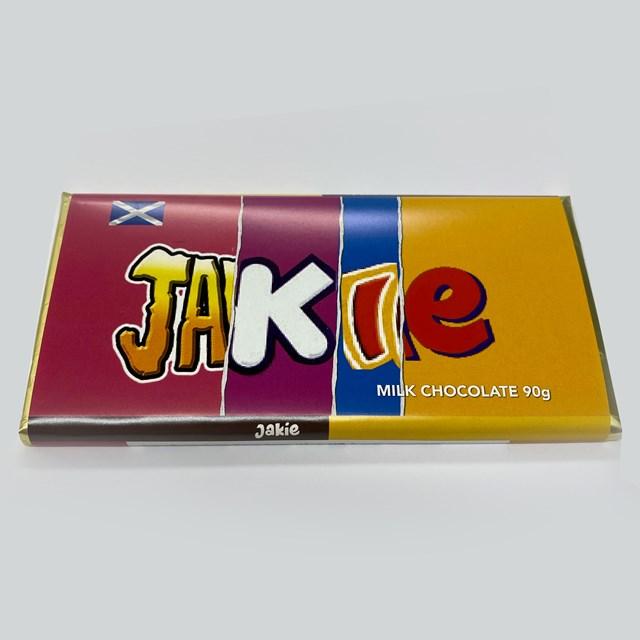 RUDE WRAPPERS MILK CHOCOLATE JAKIE 90g