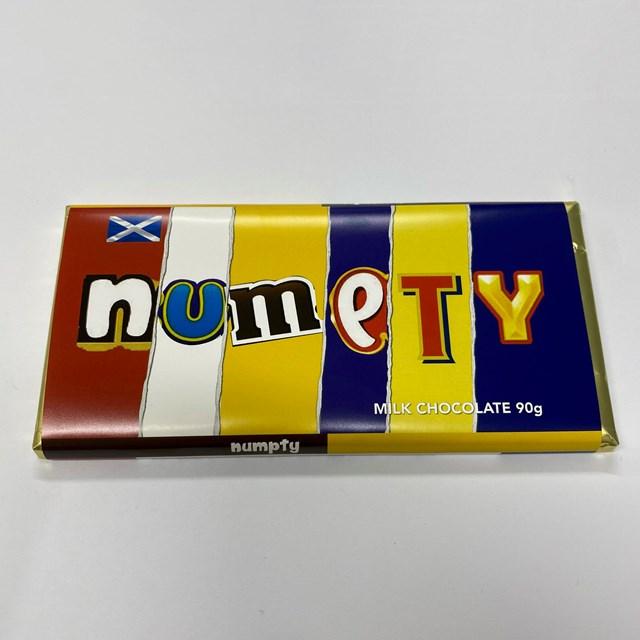 RUDE WRAPERS MILK CHOCOLATE NUMPTY 90g