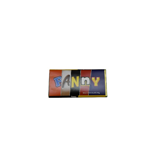 RUDE WRAPPERS MILK CHOCOLATE FANNY 90g