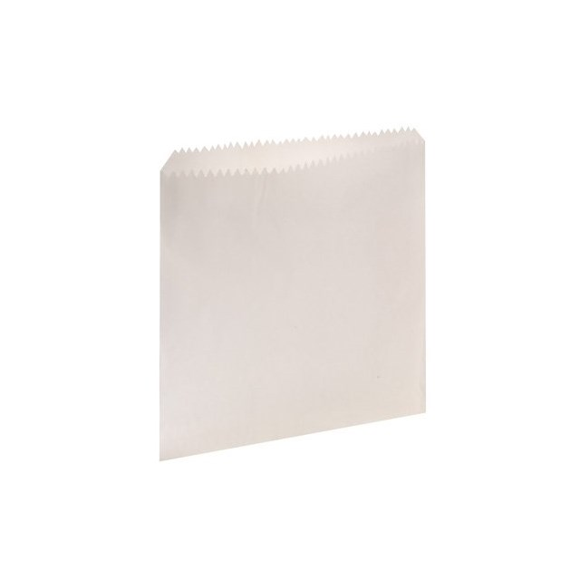 "WHITE PAPER BAGS 10"" x 10"""