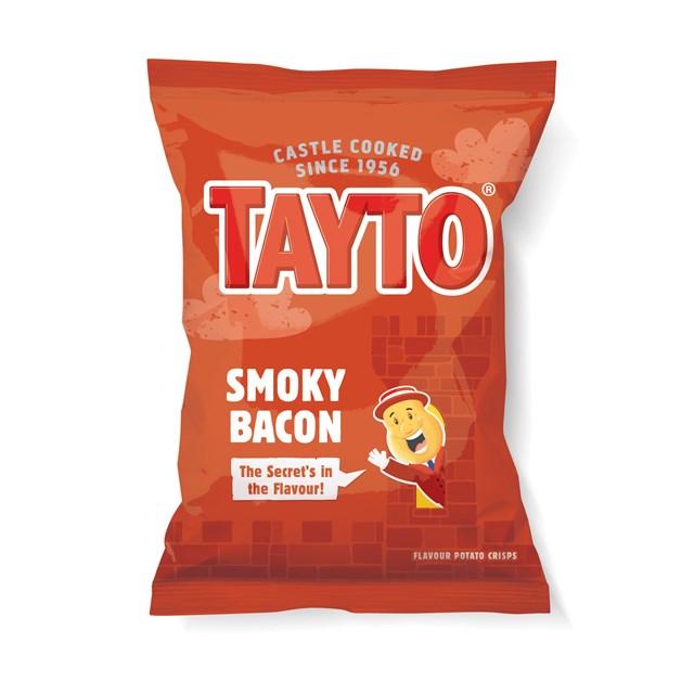TAYTO SMOKY BACON 37.5g (48 BAGS)