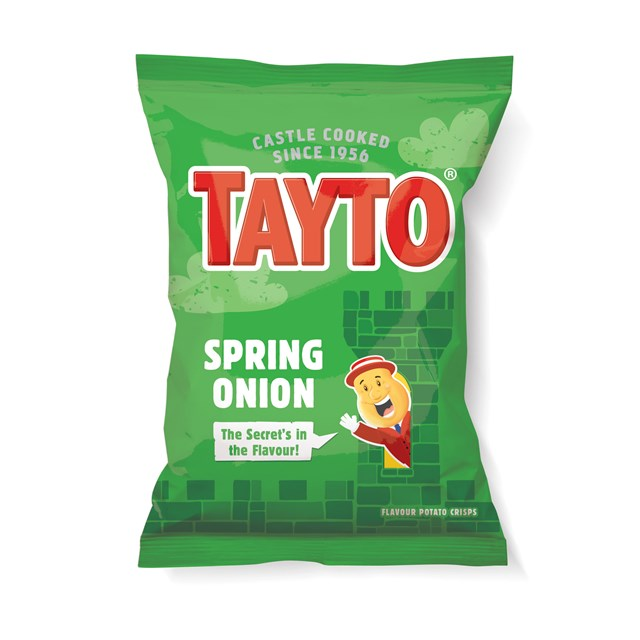TAYTO SPRING ONION 37.5g (48 BAGS)