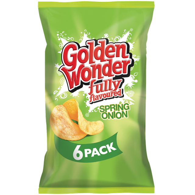 GOLDEN WONDER MULTIPACK SPRING ONION