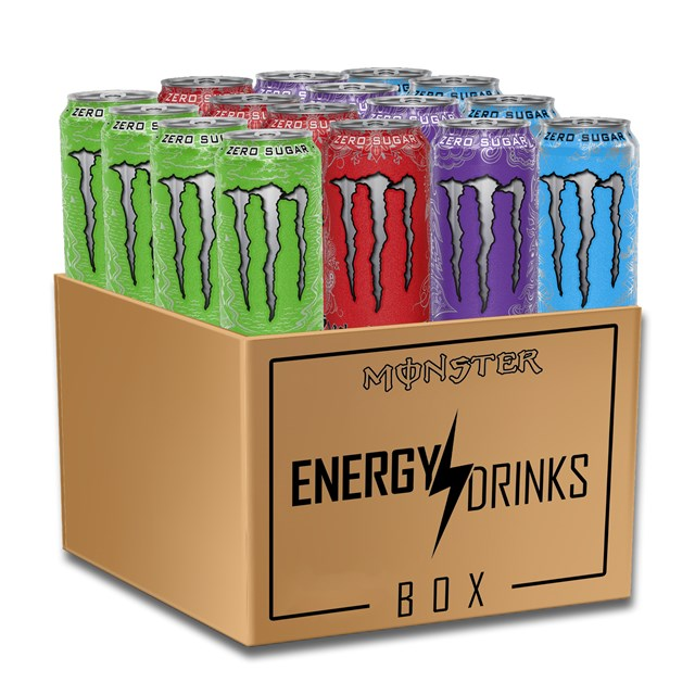 *MONSTER ENERGY DRINK ZERO SUGAR MONTHLY SUBSCRIPTION BOX CLICK FOR DETAILS