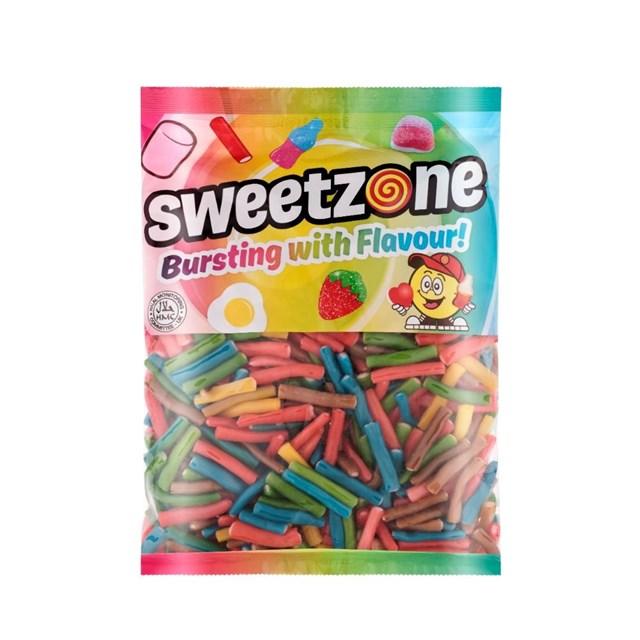 SWEETZONE 1kg BAG RAINBOW PENCILS