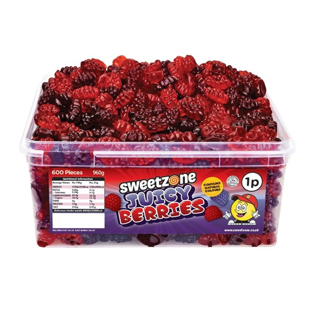 SWEETZONE 1P TUBS Juicy Berries