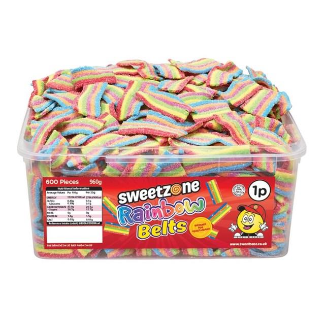 SWEETZONE 1P TUBS Rainbow Belts