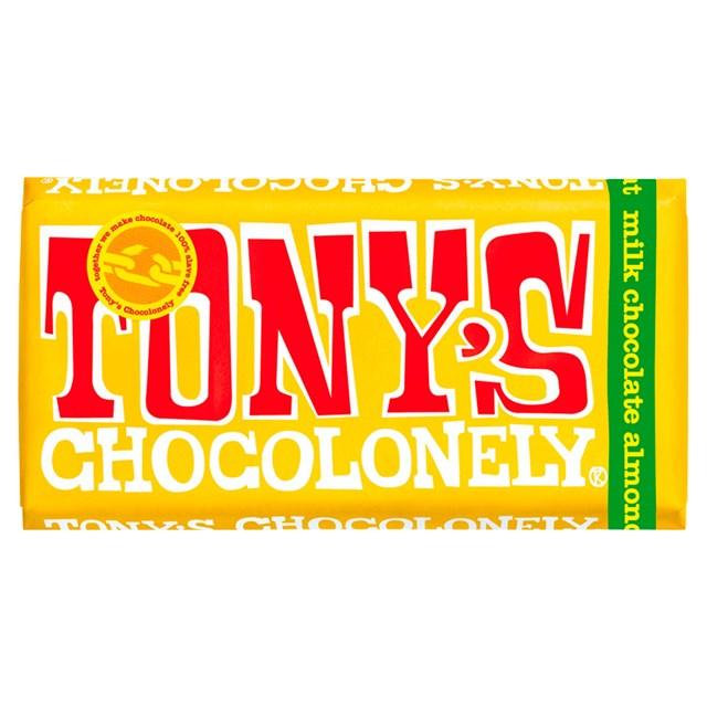 TONYS CHOCOLONELY MILK ALMOND HONEY NOUGAT 180g