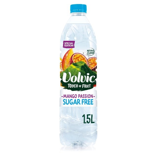 VOLVIC TOUCH OF FRUIT MANGO & PASSIONFRUIT 1.5L