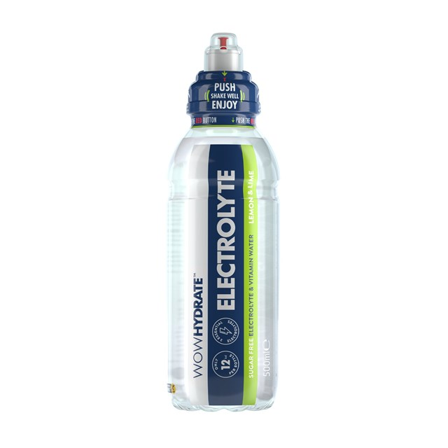 WOW HYDRATE LEMON & LIME PROTEIN WATER 500ml