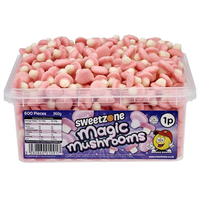 SWEETZONE 1P TUBS Magic Mushrooms