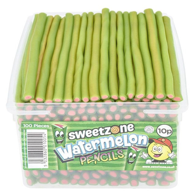 SWEETZONE TUBS PENCILS WATERMELON