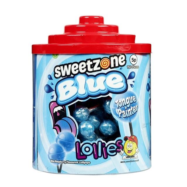 SWEETZONE BLUE TONGUE PAINTER LOLLIES 5p