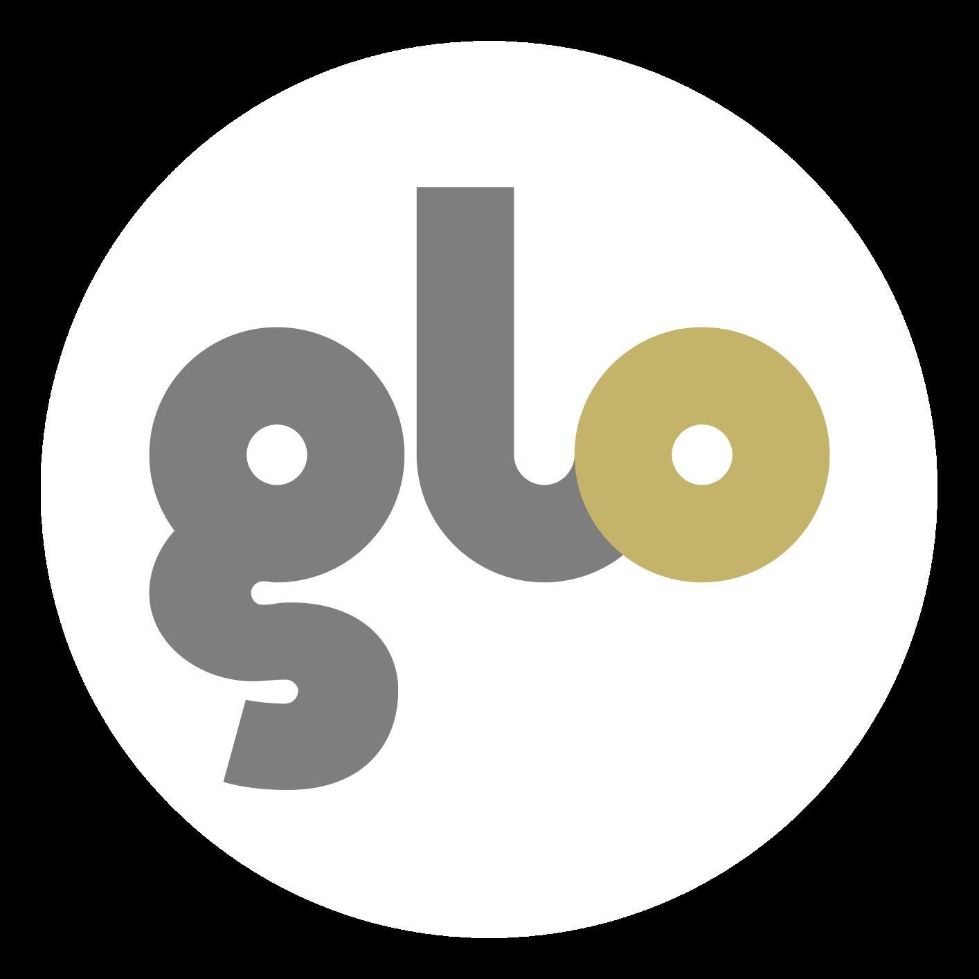 Glo Logo gold circle