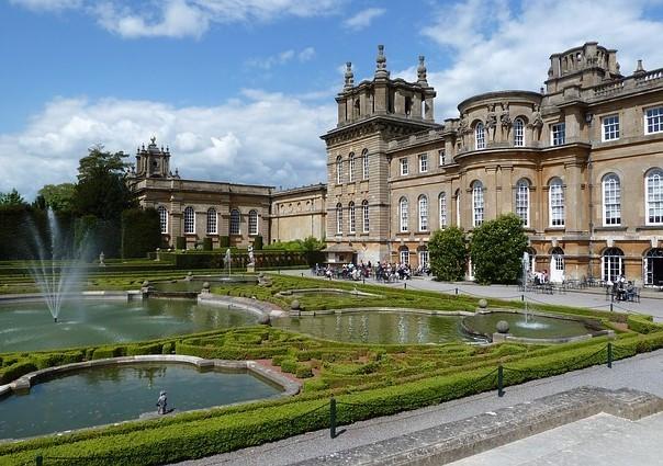 Blenheim Palace Ad Vertentie