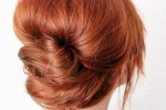 French pleat hair style