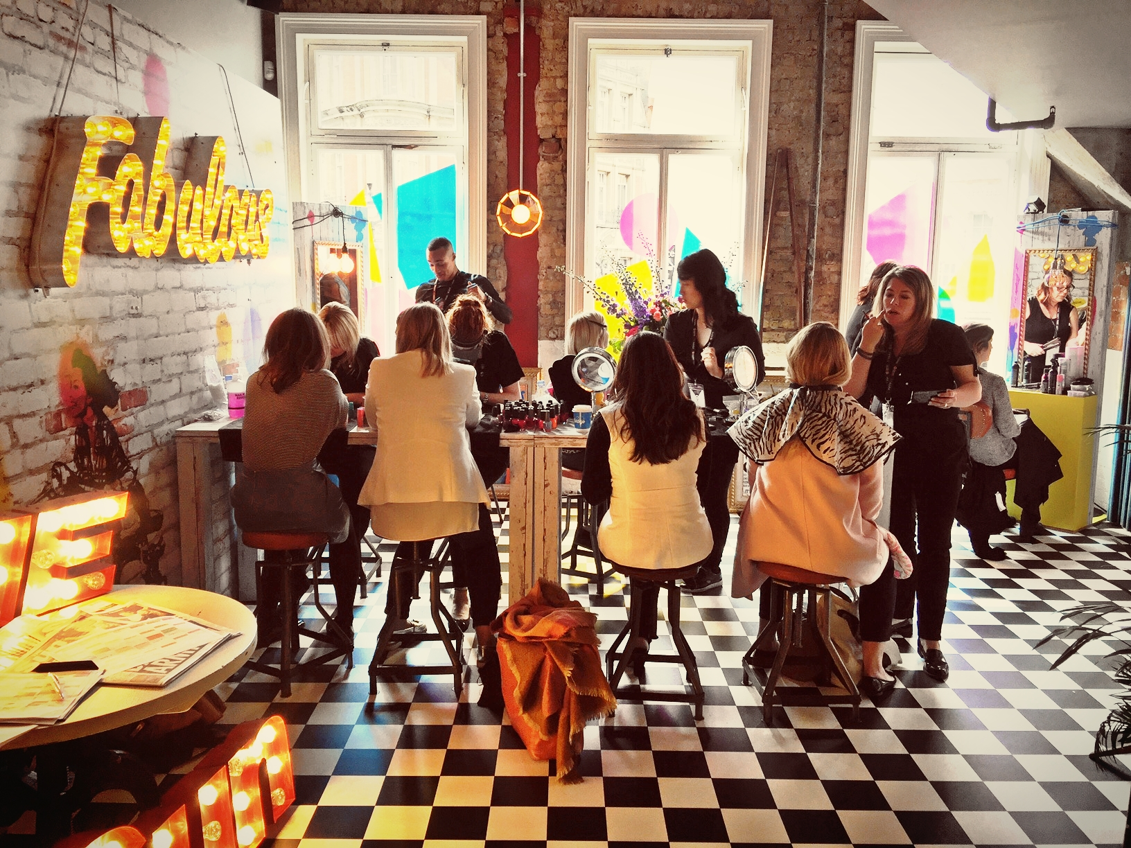 Fabulous Magazine Pop up Salon with glo pamper