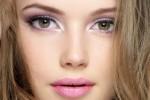 pastel pink makeup