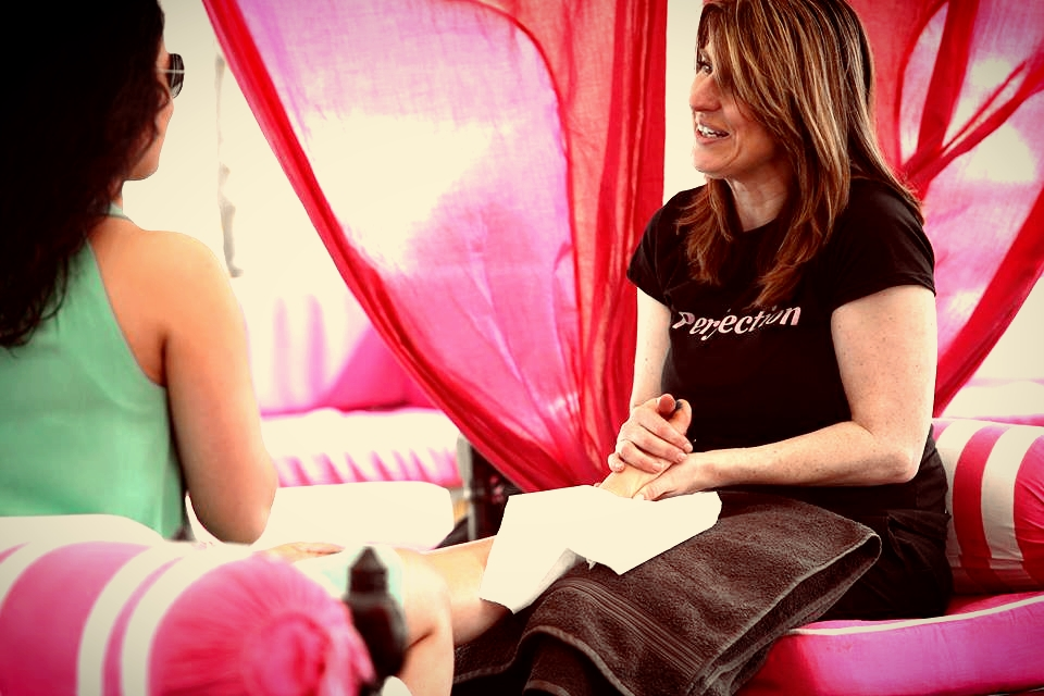 Perfection events foot massage with glo pamper