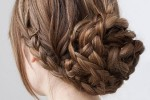 Hen party hair styling
