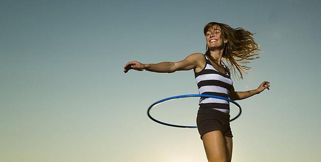 Hoola Hooping fitness