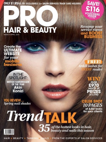 Pro Hair and Beauty Magazine 2014