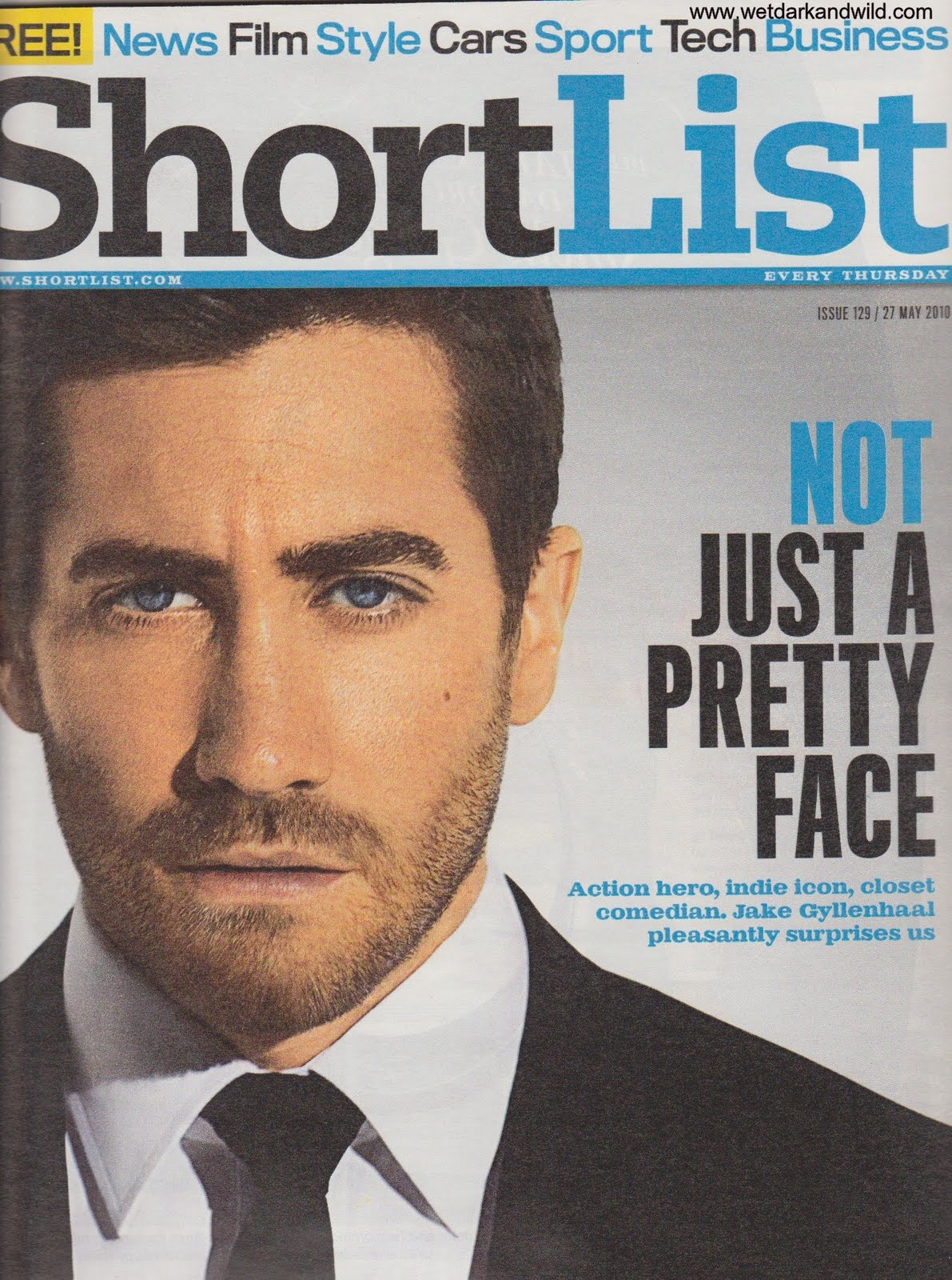 Shortlist magazine 2010