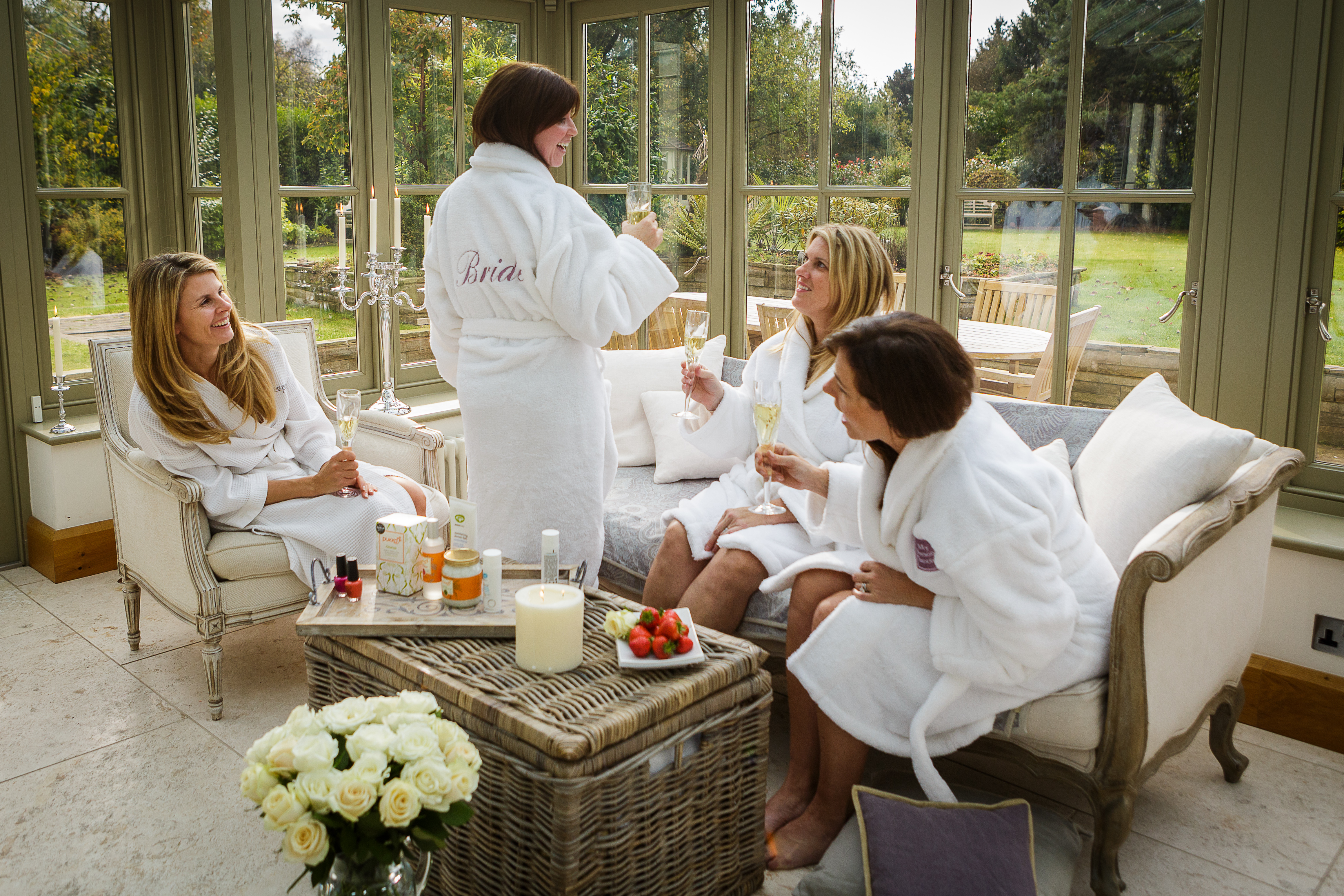 Pampering robes