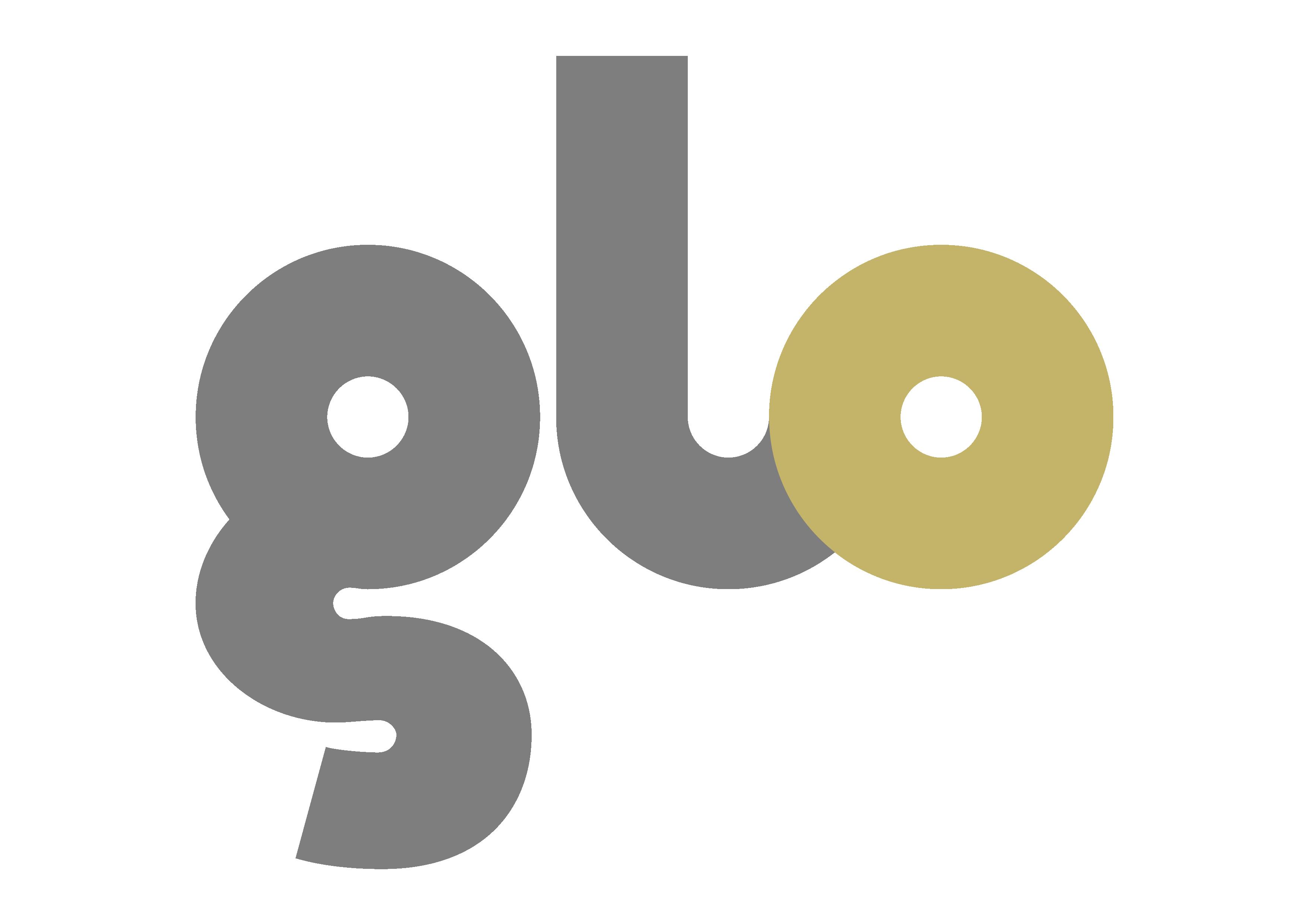 Glo gold logo square