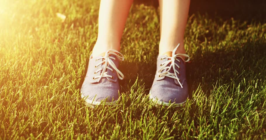 Supportive shoes for walking
