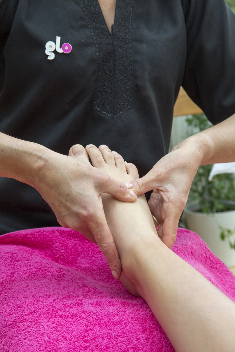 Christmas Party foot massage